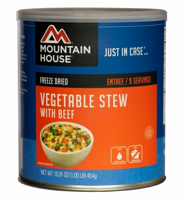 Mountain House Vegetable Stew w/ Beef #10 Can