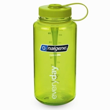 Nalgene Tritan 32oz Wide Mouth Bottle | BPA Free Green