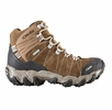 Oboz Womens Bridger Mid BDry Walnut