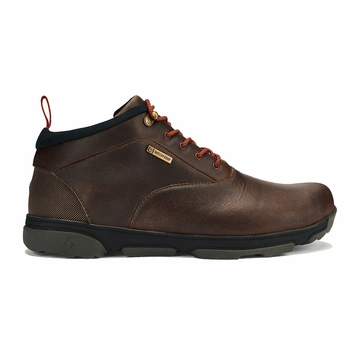 Olukai Mens Kualono Waterproof Carob/ Black (Close Out)