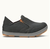 OluKai Mens Nohea Mesh Dark Shadow/ Dark Shadow
