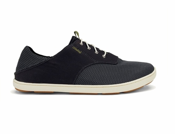OluKai Mens Nohea Moku Black/ Black (Close Out)
