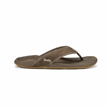 Olukai Mens Nui Clay/ Clay (Close Out)
