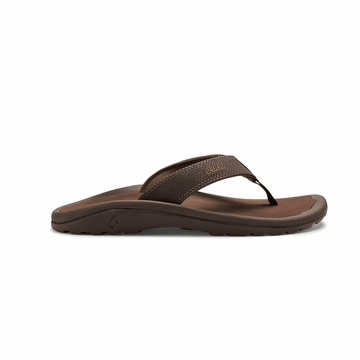 Olukai Mens Ohana Dark Java/ Ray  (close out)
