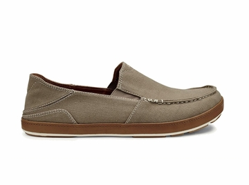 OluKai Mens Puhalu Canvas Clay/ Toffee (Close Out)