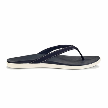 Olukai Womens Ho'Opio Trench Blue/ Trench Blue (close out)