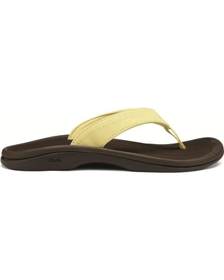 OluKai Womens Ohana Lemonade/ Dark Java (Close Out)