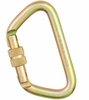 "Omega 1/2"" Large ""D"" Steel Screwgate NFPA Gold"