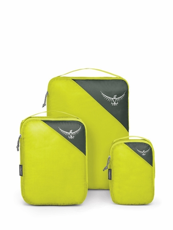 Osprey Ultralight Packing Cube Set S/M/L Electric Lime (Close Out)