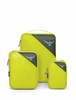Osprey Ultralight Packing Cupe Set S/M/L Electric Lime