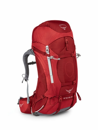 Osprey Womens Ariel AG 55 Picante Red XS