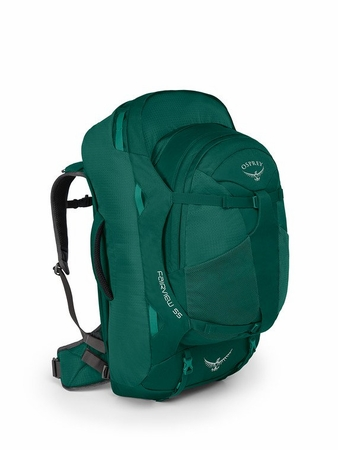 Osprey Womens Fairview 55 Rainforest Green XS/S
