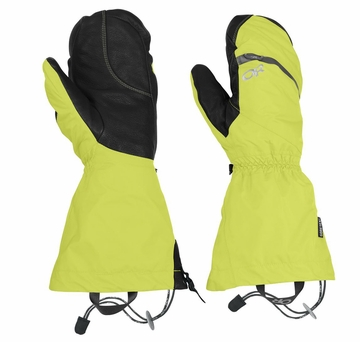 Outdoor Research Alti Mitts Lemongrass