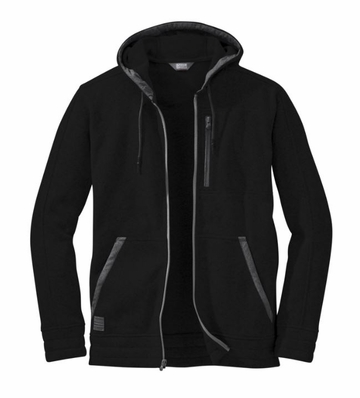 Outdoor Research Mens Belmont Hoody Black  (close out)