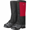 Outdoor Research Mens Expedition Crocodile Gaiters Chili/ Black