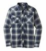 Outdoor Research Mens Feedback Flannel Shirt Black/ Baltic