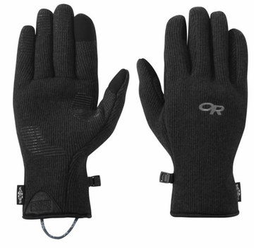 Outdoor Research Mens Flurry Sensor Gloves Black
