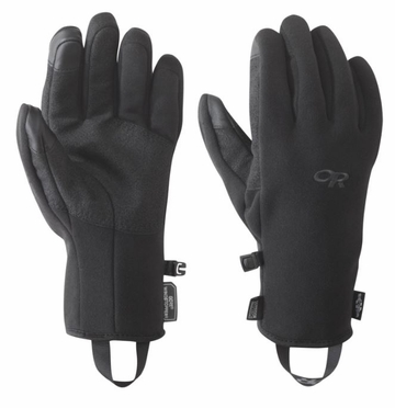 Outdoor Research Mens Gripper Sensor Gloves Black