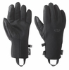 Outdoor Research Mens Gripper Sensor Gloves Black  (close out)