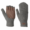 Outdoor Research Mens Lost Coast Fingerless Mitt Pewter  (close out)