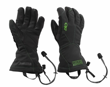Outdoor Research Mens Luminary Sensor Gloves Black/ Flash