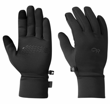 Outdoor Research Mens PL 100 Sensor Gloves Black (Close Out)