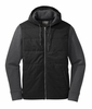 Outdoor Research Mens Revy Hooded Jacket Black/ Charcoal (close out)