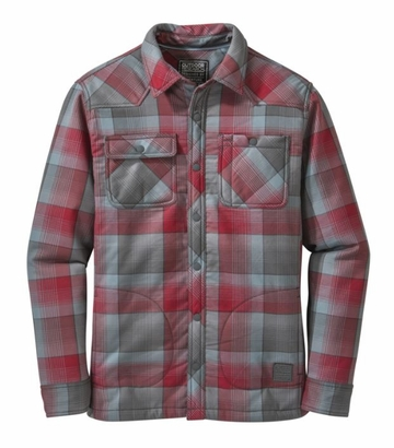 Outdoor Research Mens Sherman Jacket Redwood/ Shade