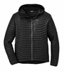 Outdoor Research Mens Verismo Hooded Down Jacket Black