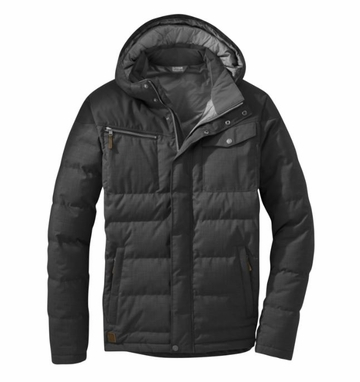 Outdoor Research Mens Whitefish Down Jacket Black
