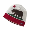Patagonia Beanie Hat California Bear: Wax Red