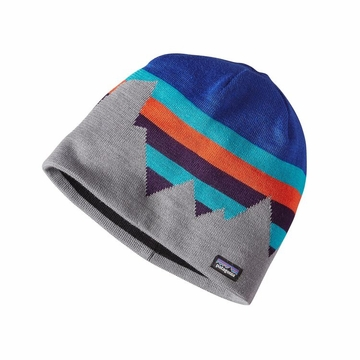 Patagonia Beanie Hat Fitz Formation: Harvest Moon Blue