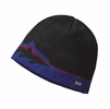 Patagonia Beanie Hat Fitz Roy Trout: Black