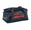 Patagonia Black Hole Duffel 45L Navy Blue w/ Paintbrush Red