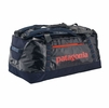 Patagonia Black Hole Duffel 90L Navy Blue w/ Paintbrush Red