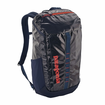 Patagonia Black Hole Pack 25L Navy Blue w/ Paintbrush Red