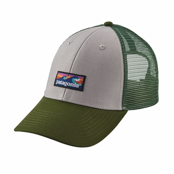 Patagonia Board Short Label LoPro Trucker Hat Drifter Grey