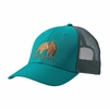 Patagonia Eat Local Upstream LoPro Trucker Hat True Teal