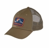 Patagonia Firstlighters Badge LoPro Trucker Hat Ash Tan