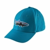 Patagonia Fitz Roy Tarpon Stretch Fit Hat Grecian Blue