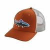 Patagonia Fitz Roy Trout Trucker Hat Copper Ore