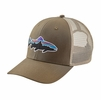 Patagonia Fitz Roy Trout Trucker Hat Dark Ash