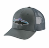 Patagonia Fitz Roy Trout Trucker Hat Nouveau Green