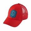 Patagonia Ironmongers Badge LoPro Trucker Hat French Red