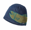 Patagonia Lined Beanie River Mouth: Glass Blue