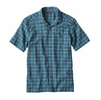 Patagonia Mens A/C Shirt Adrift: True Teal