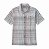 Patagonia Mens A/C Shirt Sisar: Railroad Blue