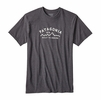 Patagonia Mens Arched Type '73 Cotton/ Poly Responsibili-Tee Forge Grey