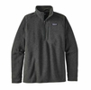 Patagonia Mens Better Sweater 1/4 Zip Fleece Carbon
