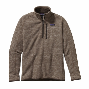 Patagonia Mens Better Sweater 1/4 Zip Fleece Pale Khaki